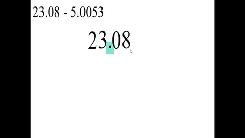 Thumbnail for entry Prealgebra 5.2.5