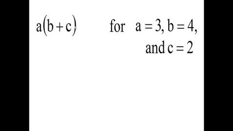 Thumbnail for entry Prealgebra 2.6.9