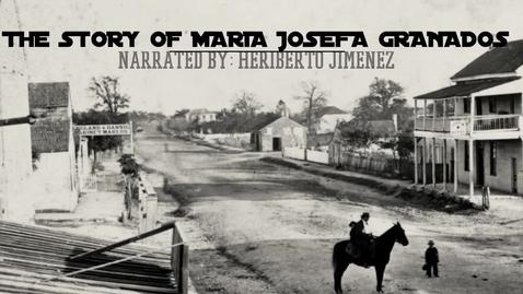 Thumbnail for entry David Najera: Maria Josefa Granados