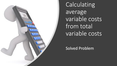 Thumbnail for entry Calculating AVC from TVC