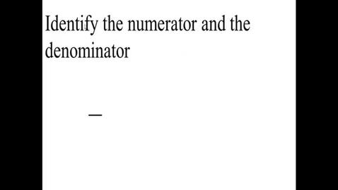 Thumbnail for entry Prealgebra 3.3.1