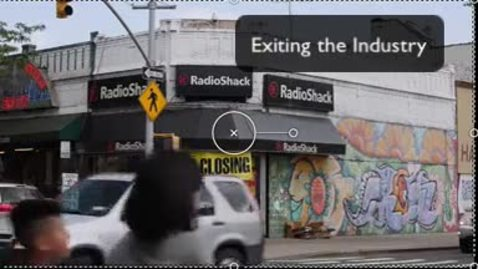 Thumbnail for entry Exiting - The Case of Radio Shack