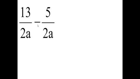 Thumbnail for entry Prealgebra 4.3.3
