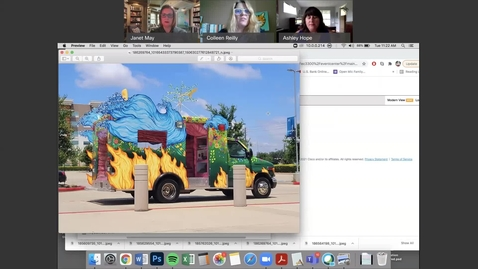 Thumbnail for entry Art Car Featured on Virtual Coffee Break