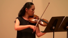 Thumbnail for entry Yu-Fang Chen Violin Recital (HCCTV)