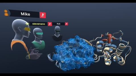 Thumbnail for entry COVID19 in VR—SARS-CoV (vs) SARS-CoV-2 Main Protease  COVID-19