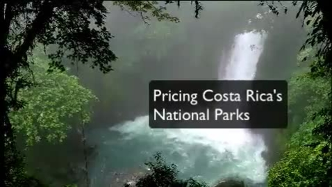 Thumbnail for entry Pricing Costa Rica's National Parks