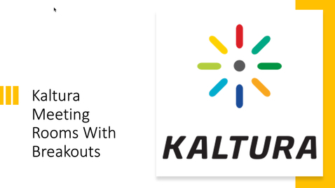 Thumbnail for entry Kaltura Live Room Demonstration - Tuesday, 9:00 a.m.
