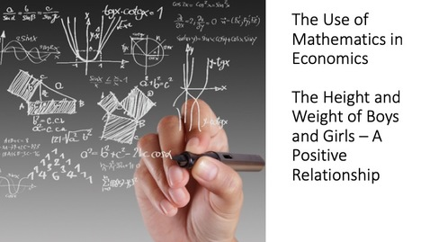 Thumbnail for entry The Use of Mathematics in Economics - The Length and Weight of Boys and Girls