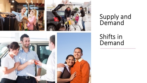 Thumbnail for entry Supply and Demand - Shifts in Demand