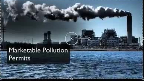 Thumbnail for entry Marketable Pollution Permits