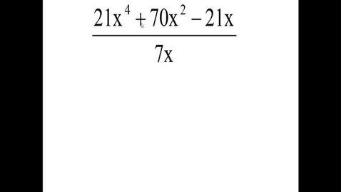 Thumbnail for entry Math 0409 Review Test 3 Problem 14