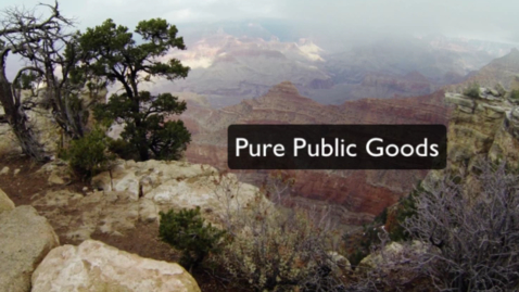 Thumbnail for entry Pure Public Goods