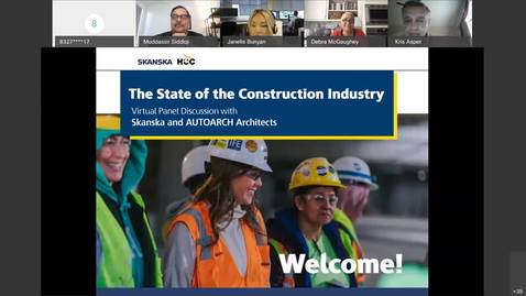 Thumbnail for entry Virtual Panel Discussion: State of the Construction Industry. Oct. 28, 2020