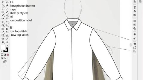 Thumbnail for entry ACS F21 - Line Sheet First Shirt Finishing