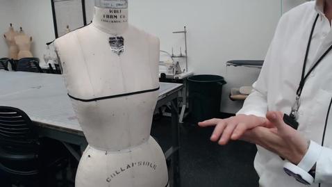 Thumbnail for entry Draping - Tent Dress Front Drape
