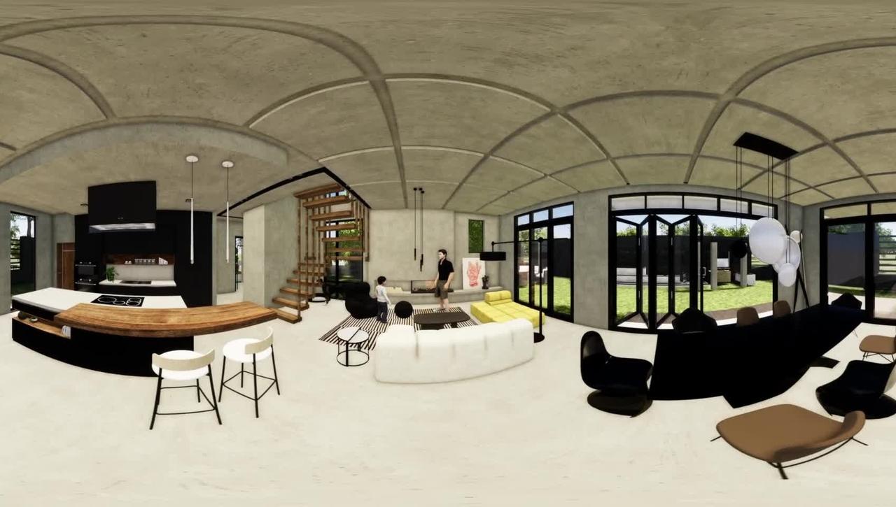 Danel Zharmenova: Residential Design project 360°