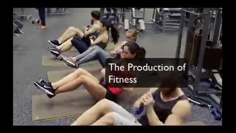 Thumbnail for entry The Production of Fitness