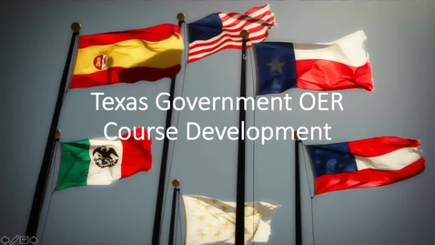 Thumbnail for entry Open Ed Week Webinar: Texas Government OER Course