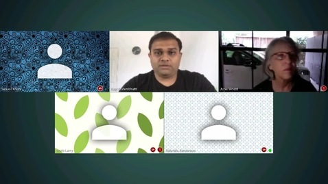 Thumbnail for entry Webex (Training Center) - 21 Apr 2020 - Faculty Video Lounge.mp4
