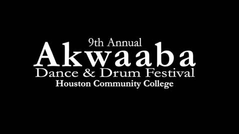 Thumbnail for entry 9th Annual Akwaaba Dance and Drum Festival