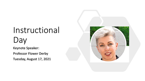 Thumbnail for entry Professor Flower Darby Presentation - Instructional Day