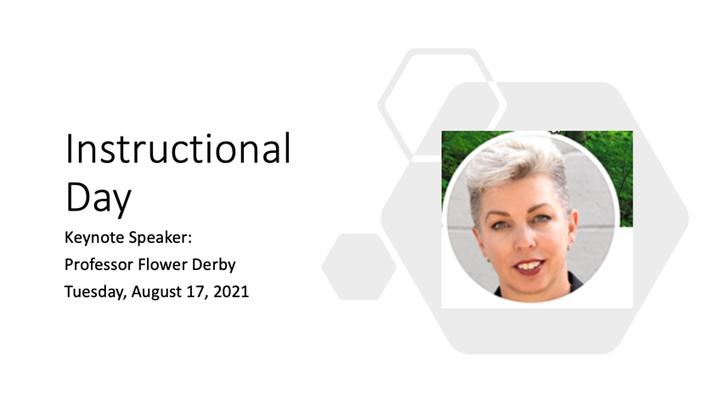 Professor Flower Darby Presentation - Instructional Day