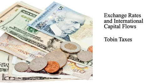 Thumbnail for entry Exchange Rates and International Capital Flows - Tobin Taxes