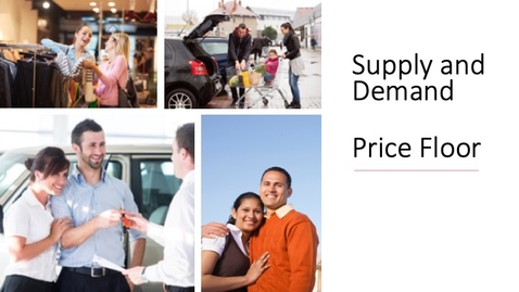 Thumbnail for entry Supply and Demand - Price Floor