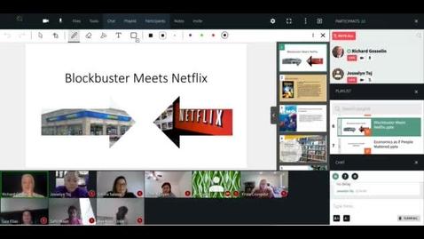 """Thumbnail for entry Flex Campus Monday, November 2, 2020 - """"Blockbuster Meets Netflix"""""""