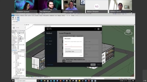 Thumbnail for entry Connecting Design & Construction Using UNITY & BIM Modeling