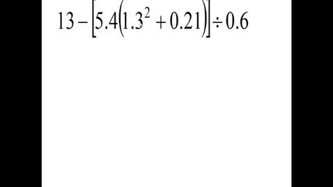 Thumbnail for entry Prealgebra 5.4.12