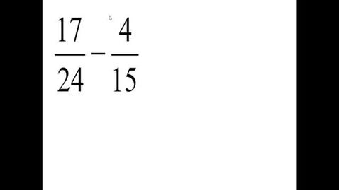 Thumbnail for entry Prealgebra 4.3.7