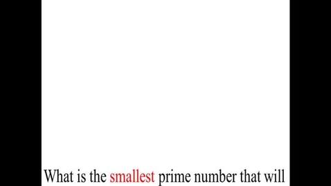 Thumbnail for entry Prealgebra 4.1.10