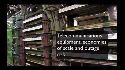 Thumbnail for entry Telecommunications, Economies of Scale and Outages