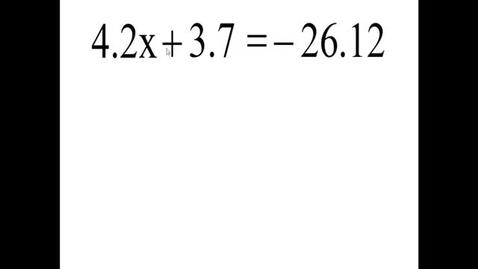 Thumbnail for entry Prealgebra 5.7.3