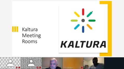 Thumbnail for entry Kaltura Live Room Demonstration - Thursday, 7:00 p.m.