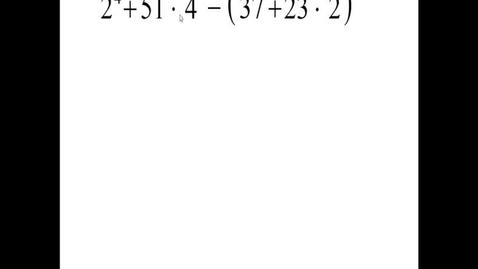 Thumbnail for entry Prealgebra 2.5.4