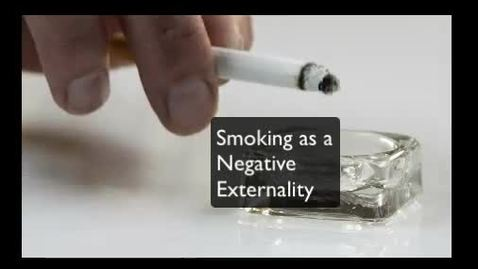 Thumbnail for entry Smoking as a Negative Externality