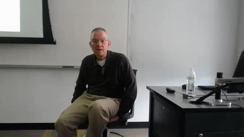 Thumbnail for entry Legal Status of Cities: Professor Tannahill's Lecture of March 22, 2016