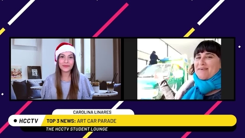 Thumbnail for entry Art Car Update Dec 2020 | The HCCTV Student Lounge