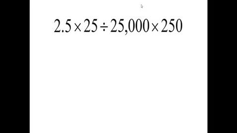 Thumbnail for entry Prealgebra 5.4.10