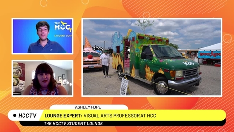 Thumbnail for entry Art Car The Student Lounge  Summer 2021