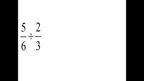 Thumbnail for entry Prealgebra 3.7.5