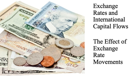 Thumbnail for entry Exchange Rates and International Capital Flows - The Effect of Exchange Rate Movements