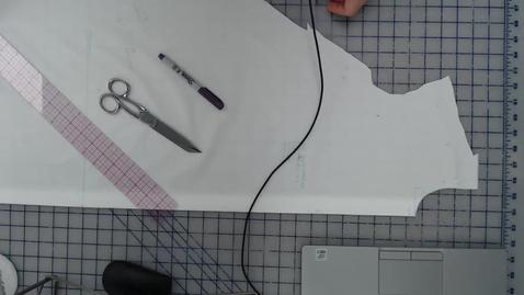 Thumbnail for entry Draping - Tent Dress Truing Drape