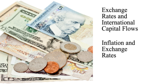 Thumbnail for entry Exchange Rates and International Capital Flows - Inflation and Exchange Rates