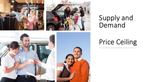 Thumbnail for entry Supply and Demand - Price Ceiling
