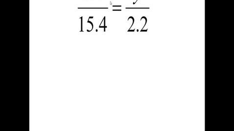 Thumbnail for entry Prealgebra 6.1.18