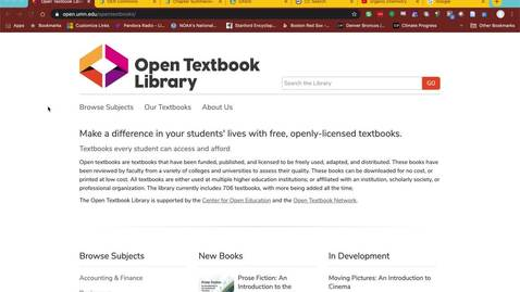 Thumbnail for entry How to Find Open Educational Resources
